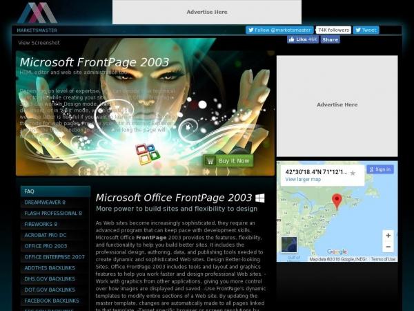 microsoft-frontpage.marketsmaster.org
