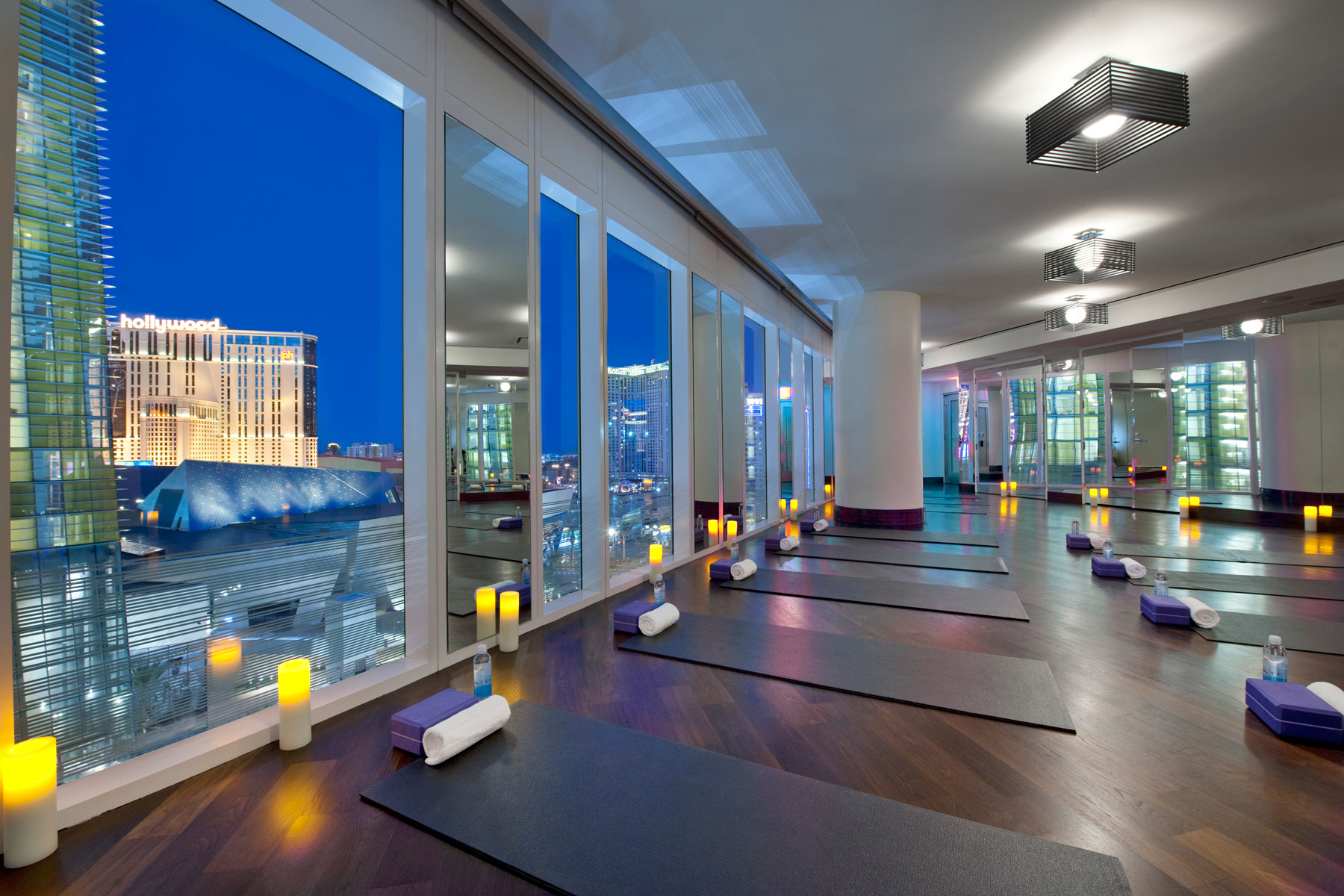 Featured Gym Mandarin Oriental Hotel In Las Vegas