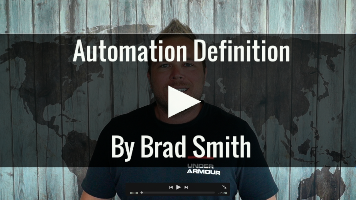 Automation Definition By Brad Smith